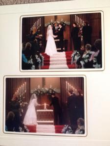 knight wedding album