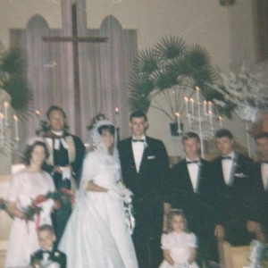 Lyons wedding 1965